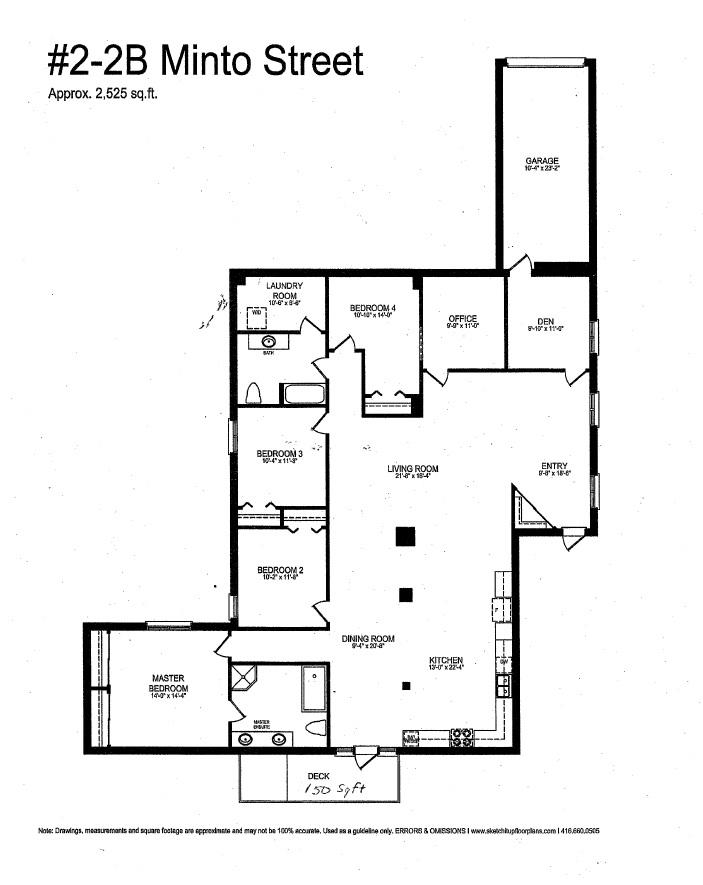 2B Minto Street Unit 2 floor plan